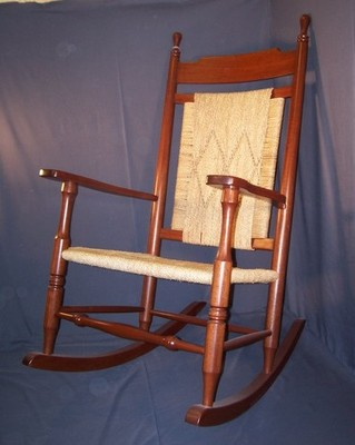 Arm Rocker With Woven Seagrass Seat And Back Panel. Very Comfortable And  Durable, With A Distinctly Traditional Style. This Chair Is Available In  The Above ...